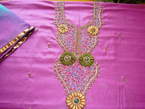 Hand embroidered punjabi salwar suit in ludhiana punjab