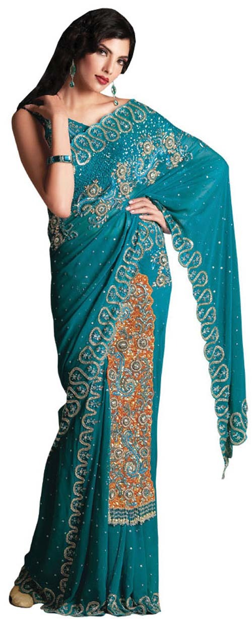 Pin hand embroidery sarees on pinterest
