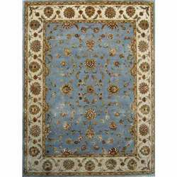 Hand Tufted Woolen Silk Carpets
