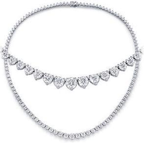 Ladies Diamond Classic Necklaces