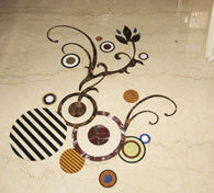 Designer Marble Inlay Floorings