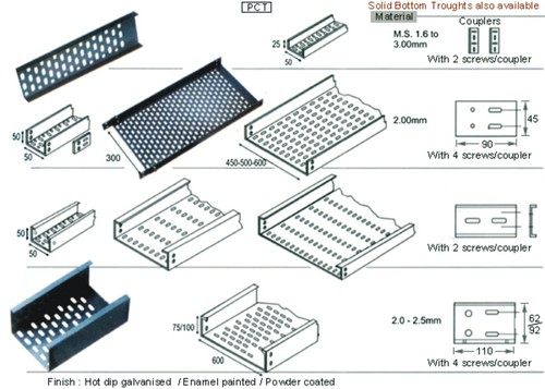 Perforated Cable Tray In Ludhiana Punjab India Jandu