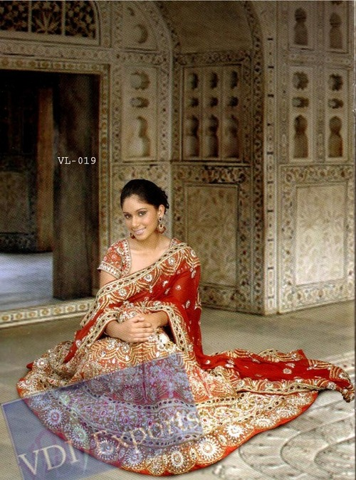 Heavy Bridal Designer Wedding Lehnga