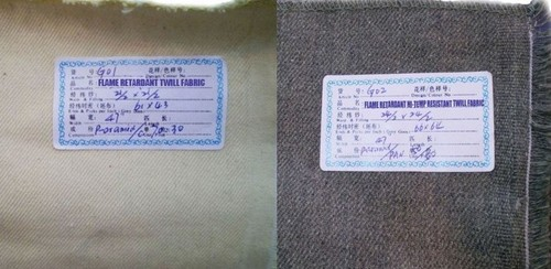 Flame Retardant Fiber Blend Fabric