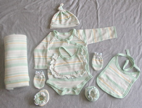 Organic New Born Baby Wear Set
