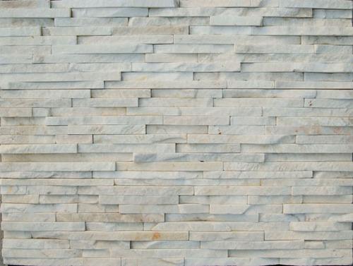 White Cultured Stone Ledge Wall In Quanzhou Fujian