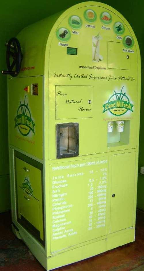 juice box vending machine
