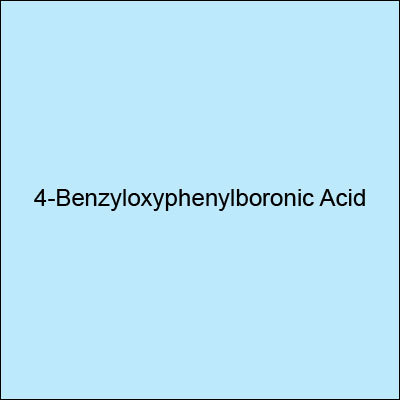 4-Benzyloxyphenylboronic Acid