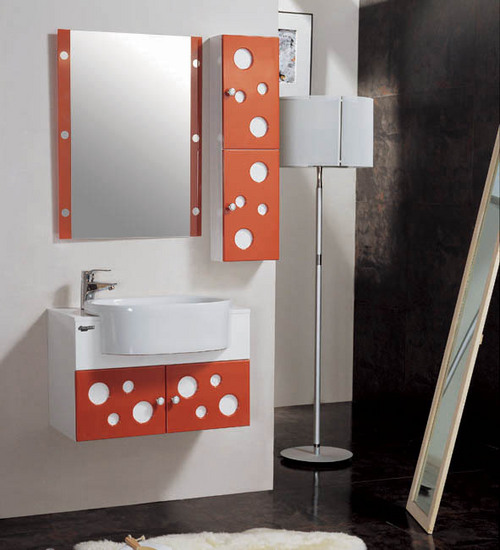 High quality pvc bathroom cabinet in hangzhou zhejiang for Bathroom cabinets 800mm high