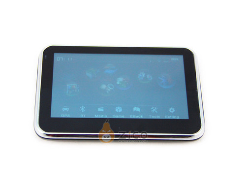 4.3-Inch GPS Receiver With Picture Reader