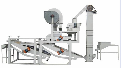 Oat Dehulling Machine