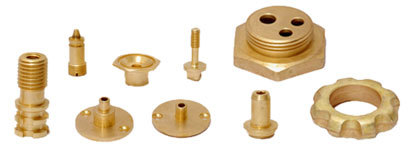 Brass Copper Turned Parts