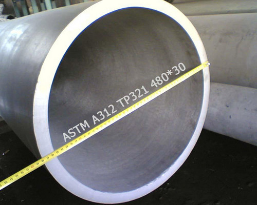 Large diameter stainless steel seamless pipe in ningbo