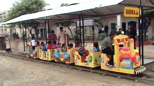Amusement Baby Train