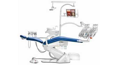 Xpress Top Dental Chair With 5 Led Lights