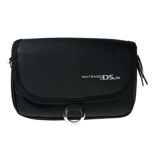 Black Soft Waist Carry Case Bag For Nintendo Nds Lite