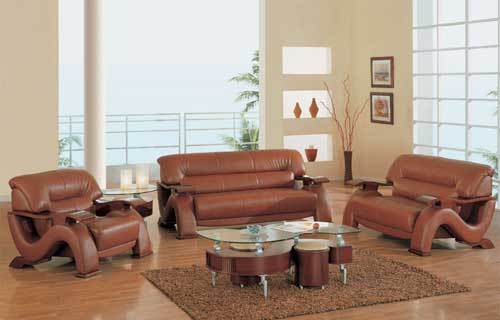 PU Leather Sofa