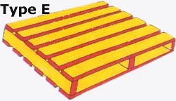 Double Deck Reversible Wing Type Pallets