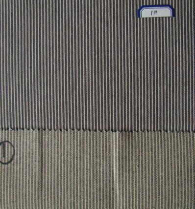 Stripe Denim Fabric