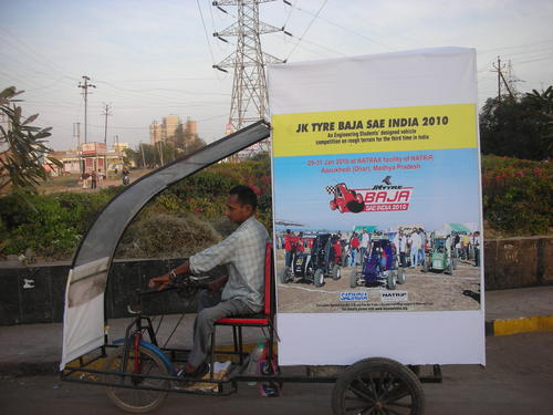 Advertiesment Tricycle