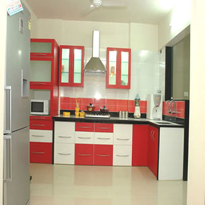 Modular kitchen india in apartments home design and for Modular kitchen designs for small kitchens in india