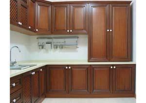 Modular kitchen cabinet in xuzhou jiangsu sheng china for Prefabricated kitchen cabinets