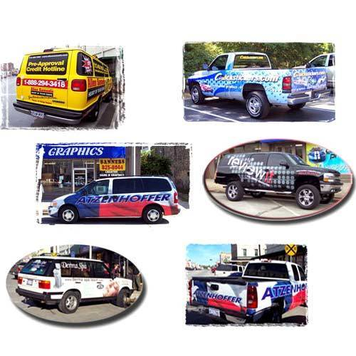Automobile Graphics Stickers