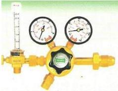 'M' Series Single Stage Regulator With Flow Meter