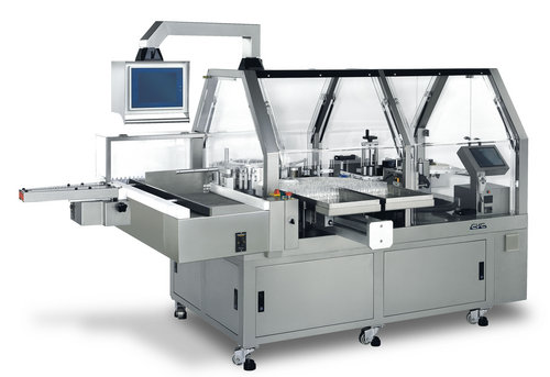 CVC High Speed Rotary Wrap Around Labeler For Ampoule And Vial
