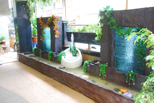 Interior Fountains Waterfalls : ... specification of indoor water fountain indoor and outdoor fountain