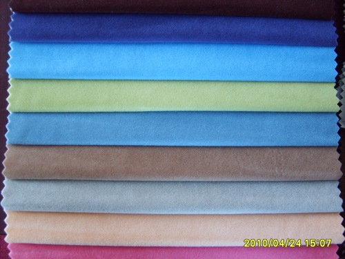 Multi-Color Flocked Fabric