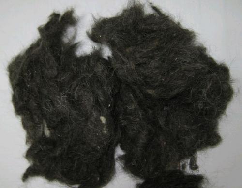 Black Wool Waste