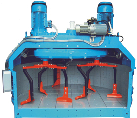 BATCHING PLANT WITH PLANETRAY MIXER