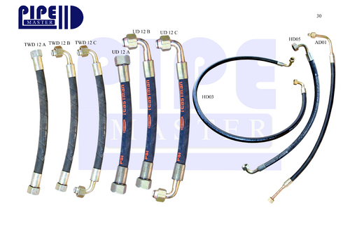 Nylon Air Brake Pipes