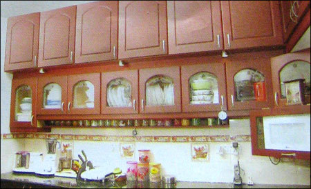 Solidwood Kitchen Cabinets In Chennai Tamil Nadu India Kb Builders Decors