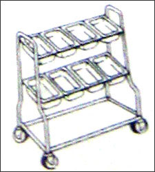 Dish Cutlery Trolley