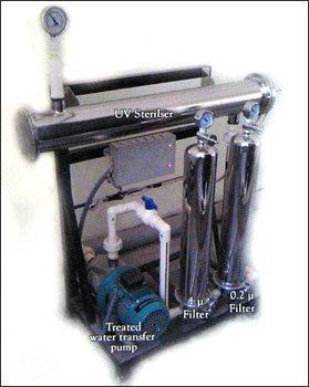 Micron Filtration And Uv Sterilization
