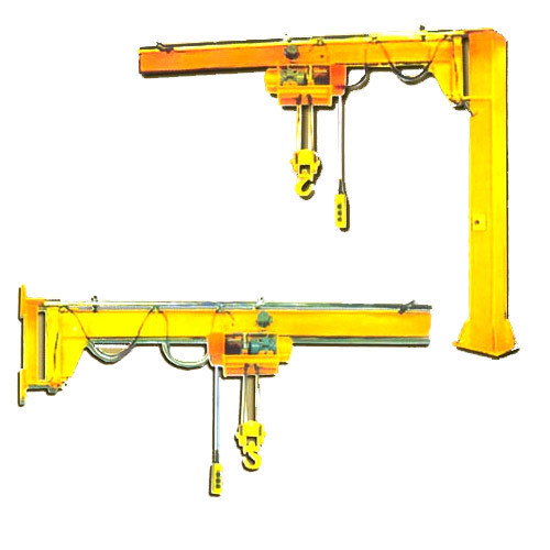 Pillar And Wall Mounted Jib Cranes
