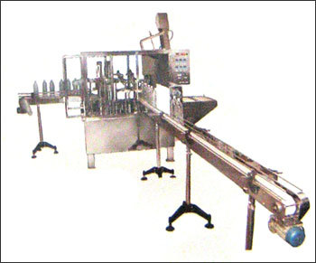 Fully Automatic Bottle Rinsing, Filling And Capping Machines