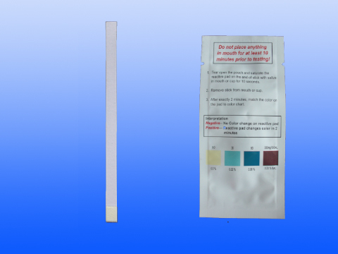 Saliva Alcohol Test Strip