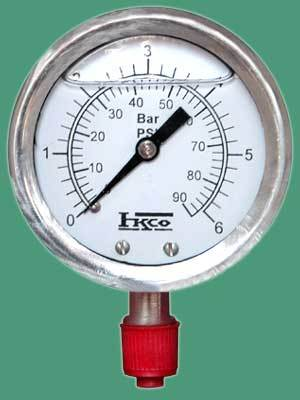S.S. Liquid Filled / Non Liquid Filled / Vacuum Pressure Gauge