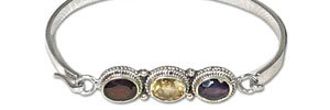 Ladies Silver Bracelets