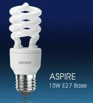 Aspire E27 Base Energy Lamps