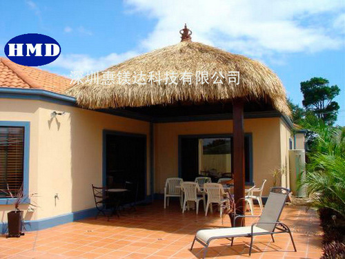 Artificial Synthetic Thatch For Housetop Decoration