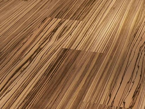 Parador Zebrano Light Wideplank Fine Grain Laminate ...