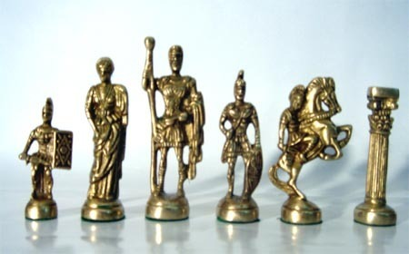 Figure Brass Chess Pieces