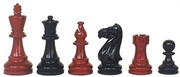 Lacquered Chess Sets (069-Brl)