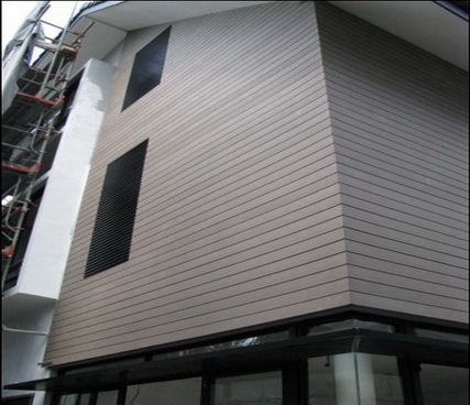 Wpc exterior wall panels in qingdao shandong china for External wall materials