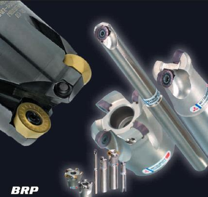 High Feed BRP Radius Milling Cutter