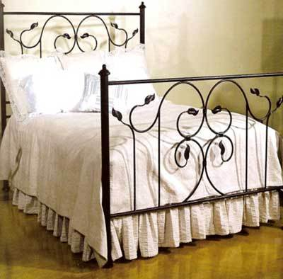 Wrought Iron Beds  Wood on Wrought Iron Bed Supplier  Exporter  White House Furnitures